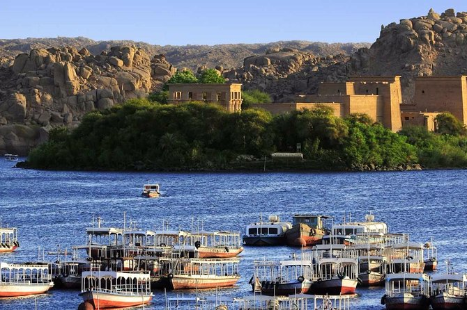 The Best Private Day Tour in Aswan Philae Island and Nubian Village & Lunch Inc