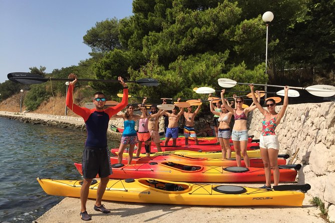 Half Day Guided Zaton Bay Kayak, Swim, and Snorkel Tour in Dubrovnik