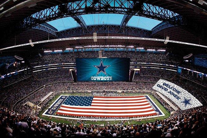 Small-Group Dallas Cowboys Stadium Tour met vervoer