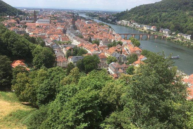 Excursion privée d'une demi-journée à Heidelberg avec prise en charge à l'hôtel