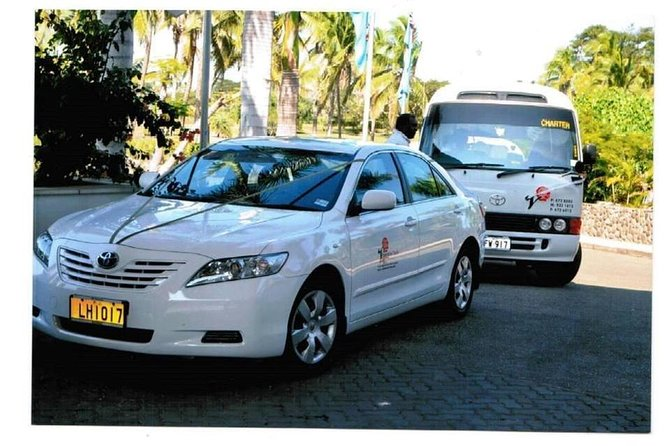 Private Car Transfer - Port Denarau to Nadi & Coral Coast Hotels