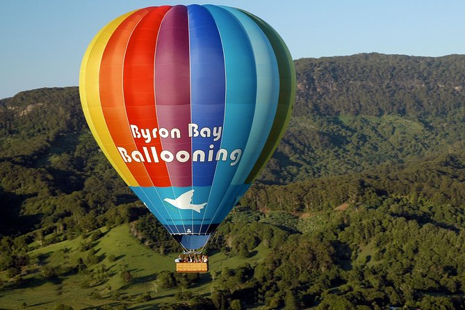 Hot Air Balloon Flight over Byron Bay Including Gourmet Champagne Breakfast