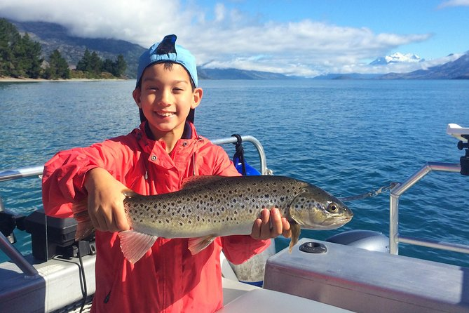 6-timmars Queenstown Fishing Charter