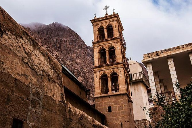 Saint Catherine Monastery and Dahab from Sharm el Sheikh