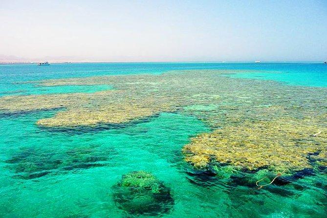 Tiran Island by boat from Sharm El Sheikh