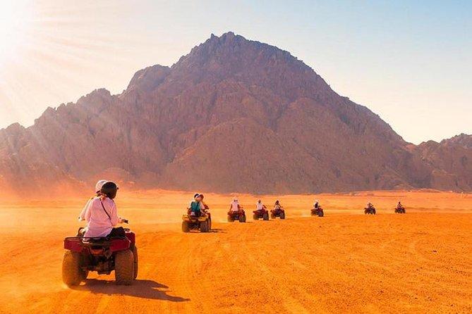 Quad Bike Around Pyramids