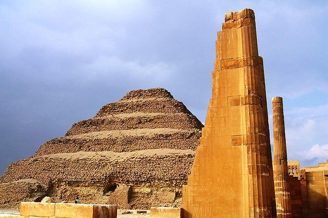 Pyramids, Sakkara & Dahshur Tour in Cairo photo 1