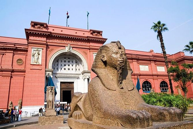 Giza Pyramids & Sphinx and Egyptian museum Full day Guided Tour photo 15