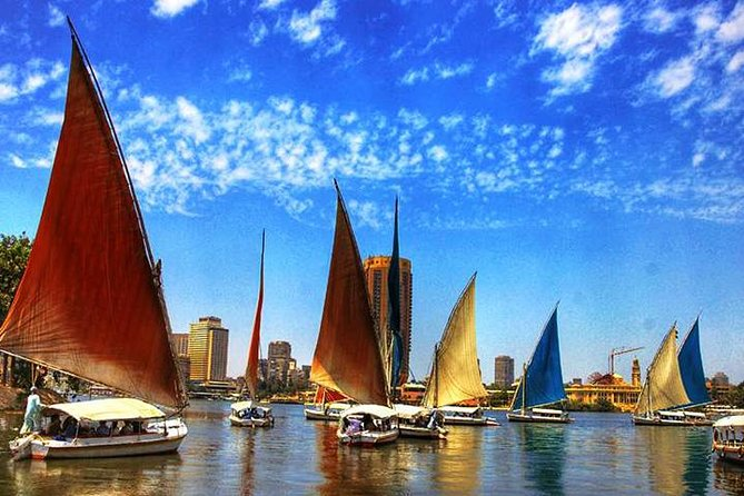 Private Tour to FELUCCA RIDE ON THE NILE IN CAIRO