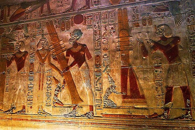 Dendera and Abydos Temples Tour from Luxor