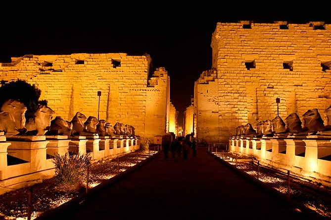 sound and light show at KARNAK TEMPLE photo 1