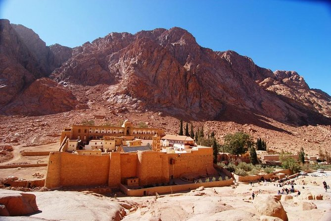 Visit Saint Catherine's Monastery only with Lunch from Dahab