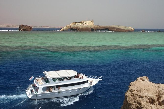 Tiran Island by Boat from Dahab