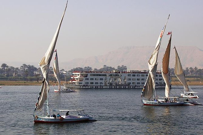 Short Felucca Boat in Luxor