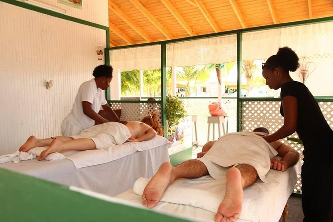 Enjoy a massage by the beach