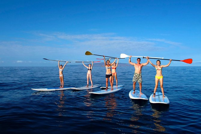 Private 2-Hour Beginner Paddleboarding 101 from Makena