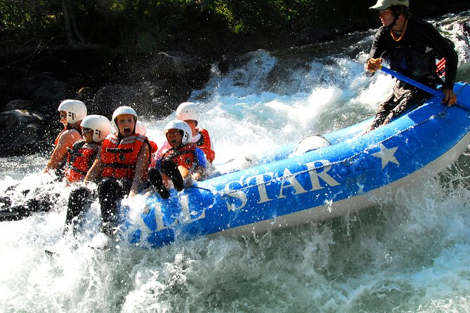 Private Half-Day Whitewater Rafting in the Gorge