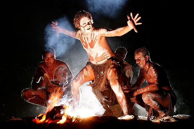Brett's Night Tour to 'NIGHT FIRE' at Tjapukai Aboriginal Cultural Park from Port Douglas