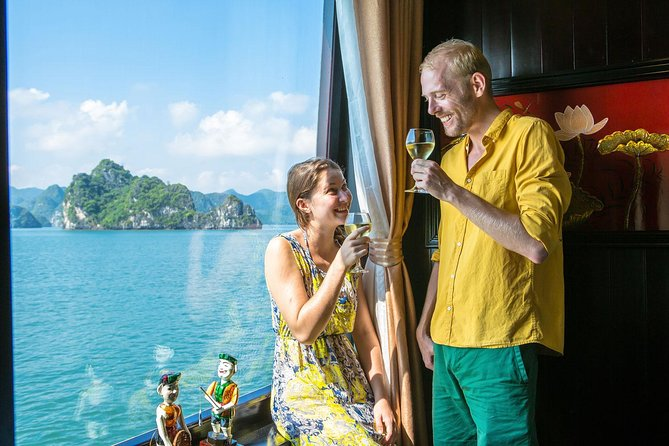 Overnight Halong Bay Cruise by Halong Suite Cruises Including Hanoi Pickup