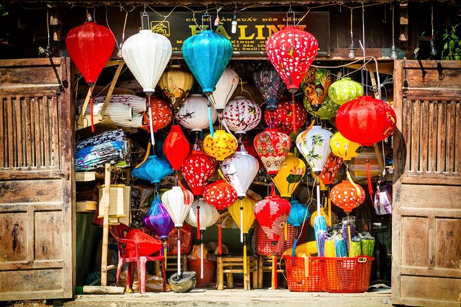 Hoi An Lantern Making and city tour