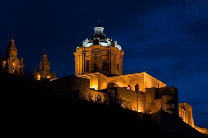 Valletta, Mosta and Mdina Night Tour