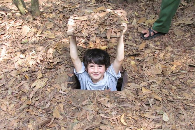 Small-group Cu Chi - Ben Dinh Tunnels (5 - 6 hours)