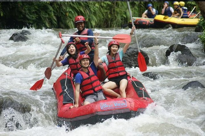 White Water Rafting, Spa Treatment and Sea Side Beach Dinner from Bali