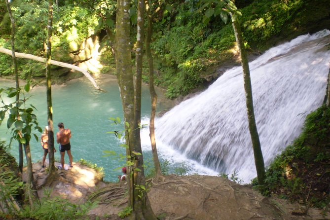 Montego Bay Shore Excursion: Blue Hole and Secret Falls Express plus Shopping