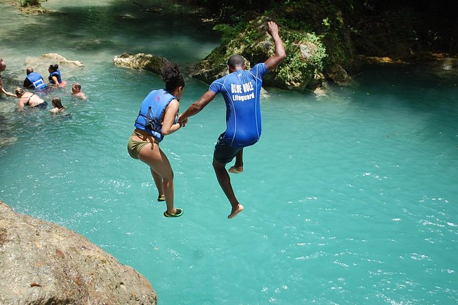 Blue Hole plus Secret Falls and Dunns River Falls Combo from Falmouth Hotels photo 1