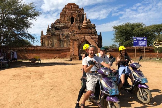 One E-bike for One Famous Bagan
