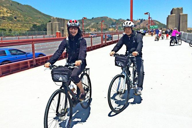 Zelfstandige fietsverhuur vanuit San Francisco