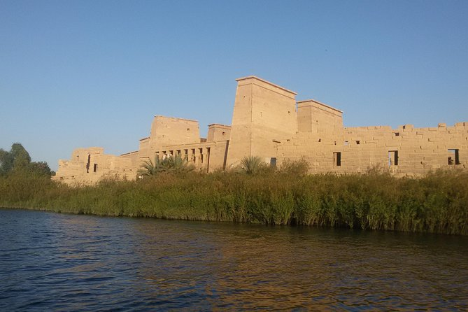 Aswan, Edfu, and Kom Ombo Private Full-Day Tour from Luxor by Road and Rail