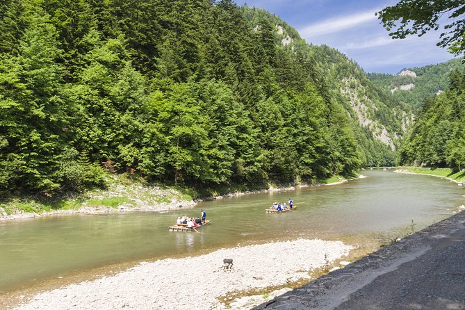 Rafting-Tour auf dem Dunajec mit privatem Transfer ab Krakau