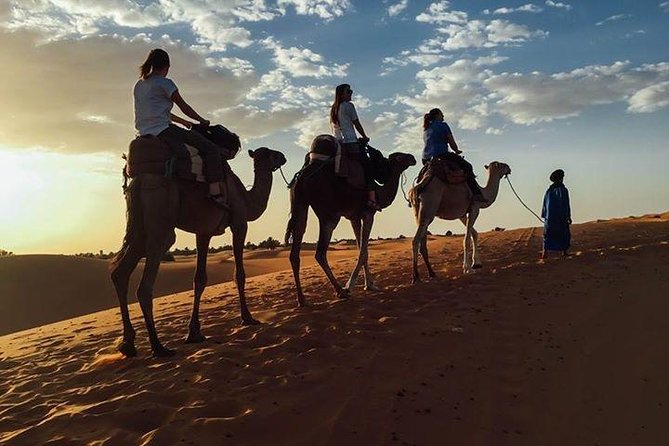 3 days Marrakech desert tour to Merzouga sand dunes via Ouarzazat and Dades gorge