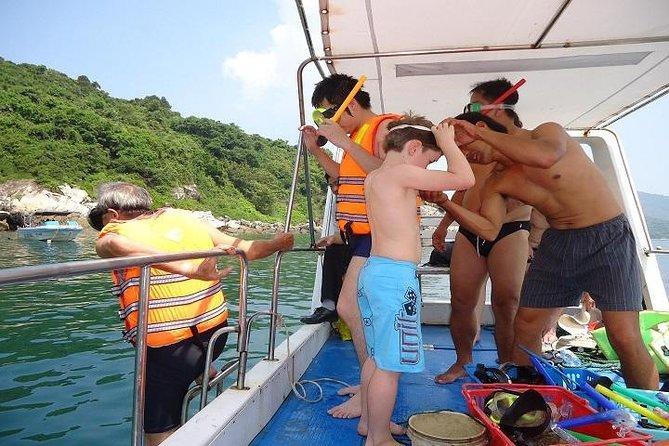 Escapada de un día a la isla Cham en lancha motora desde Hoi An o Da Nang