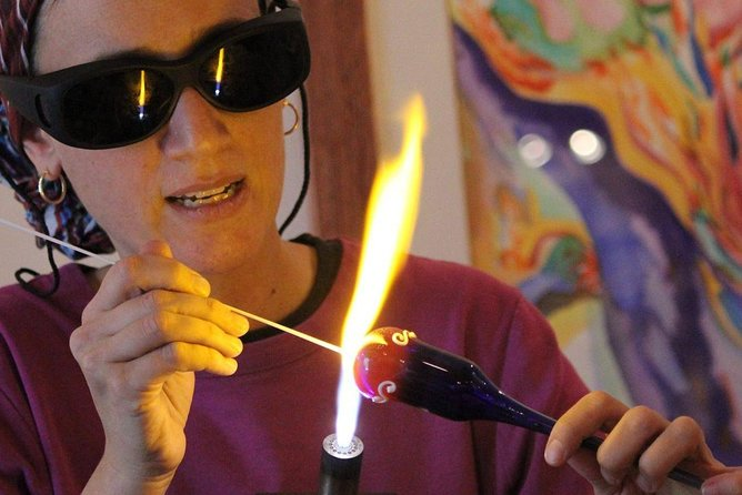 Glass Blowing Demonstrations in Safed