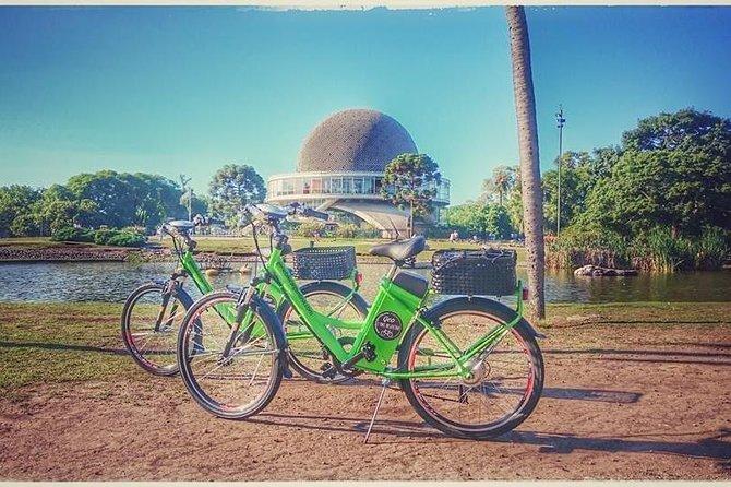 Excursão de bicicleta elétrica em Buenos Aires com almoço