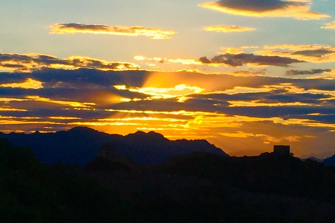 All inclusive Private Sunset Walking Tour at Jinshanling Great Wall from Beijing