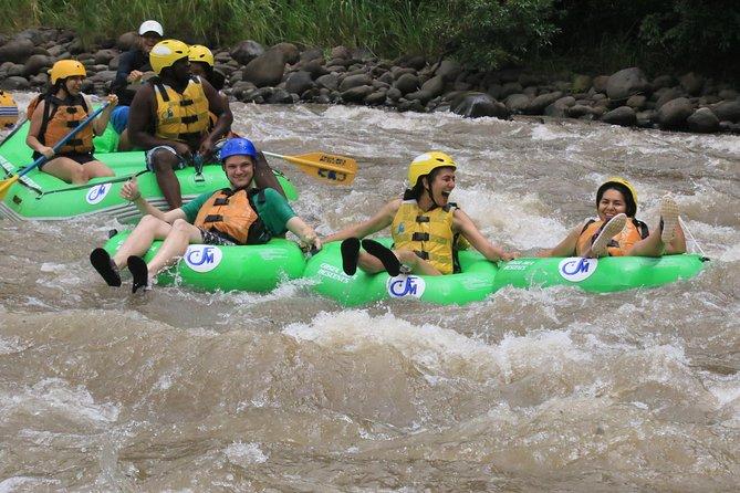 White Water Tubin in the river BALSA