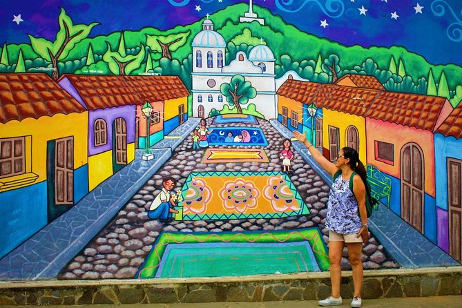 Ruta de Las Flores People volcanoes colonial towns