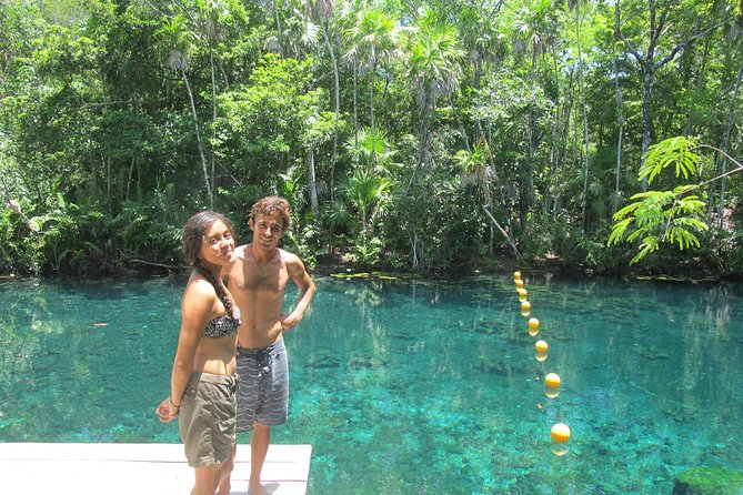 Tankah Park Five Cenotes Adventure Tour from Tulum
