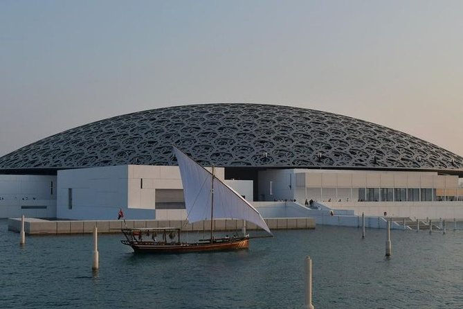 Private Tour : Louvre Museum Abu Dhabi & Sheikh Zayed Grand Mosque visit