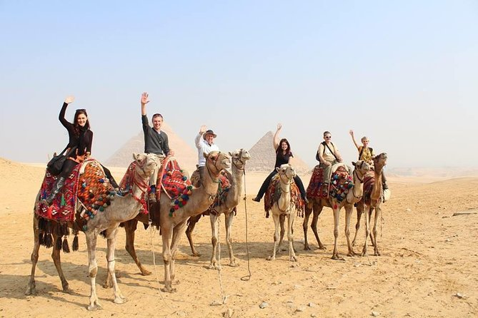 Discover Giza Pyramids, Sakkara & Memphis With Private Guide & Lunch & Camel Inc