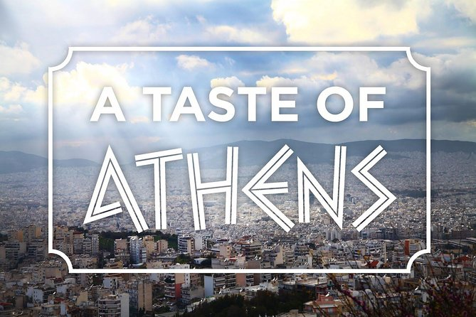 Taste of Athens Small-Group Food Tour