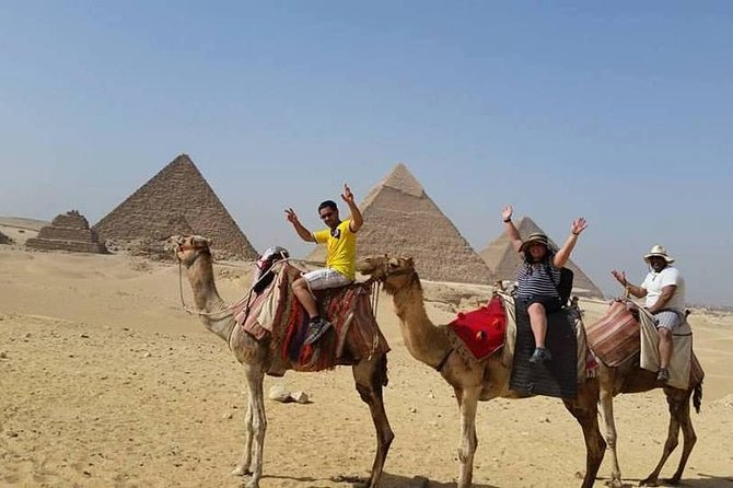 Sunrise Camel ride at the Pyramids with an Egyptian breakfast included