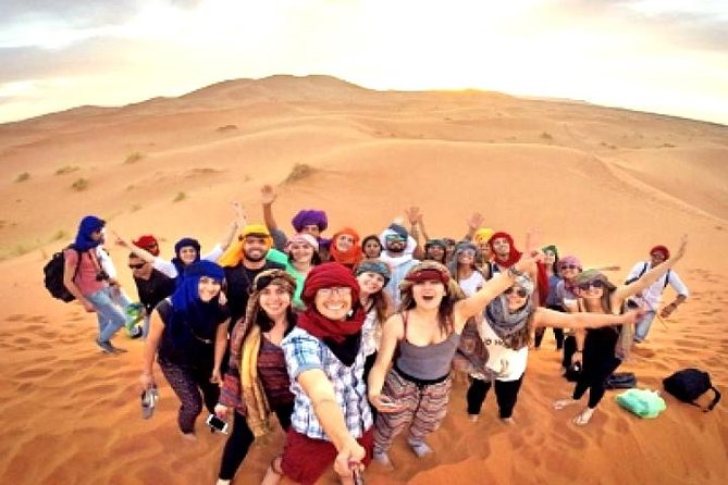4 days Tour From Errachidia to Marrakech via Merzouga Sahara