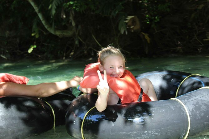 Dunn's River Falls and Jungle River Tubing Adventure Tour from Port Antonio