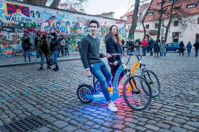 Private Magical Prague City Tour 60-min by e-Bike / e-Scooter photo 1