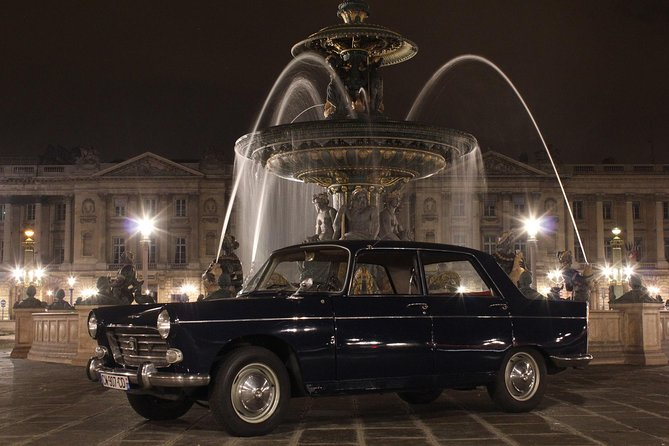 Paris Private Tour in a classic French Peugeot 404