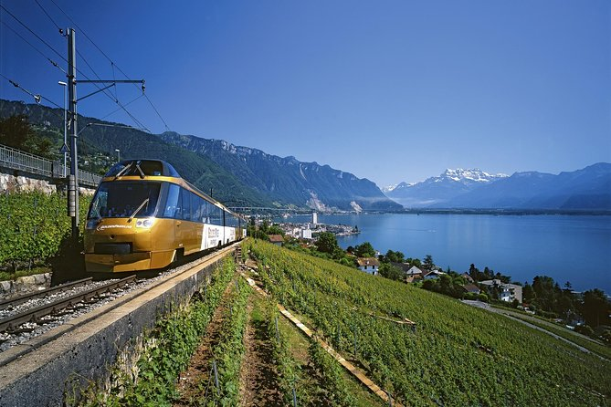 3-Day GoldenPass Line Tour from Zurich